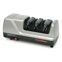 Chef's Choice Diamond Hone 120 Edgeselect Plus, Knife Sharpener, Brushed Metal, 12 x 6.375 x 6.25