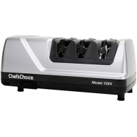 Chef's Choice 15 Trizor Xv Edgeselect Sharpener, Brushed Metal, 12 x 6.25 x 6