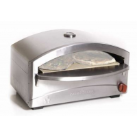Camp Chef Italia Artisan Stand Alone Pizza Oven, Silver
