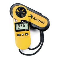 Kestrel 3500 Weather Meter / Digital Psychrometer, Yellow