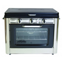 Camp Chef Outdoor Camp Oven 2 Burner Range, Gas Oven, Single C