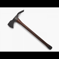 Barebones Pulaski Axe, 1055 Carbon Steel 1/3in Blade, Wood Handle