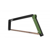 """Agawa Canyon BOREAL21, Black Annodized Frame/Forest Green Handle, 21 ALL-PURPOSE BLADE"""