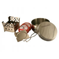 QuickStove Emergency and Camp Cook Stove Kit, Natural