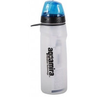 Aquamira Frontier Flow Green Line Filtered Water Bottle