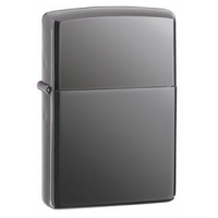 Zippo Black Ice Slim Classic Lighter, Black Ice