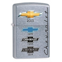 Zippo Chevrolet Lighter, Chrome Street