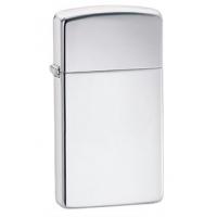 Zippo Classic Style Slim Lighter, High Polish Chrome