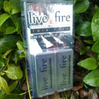 Live Fire Original Emergency Fire Starter Twin Pack