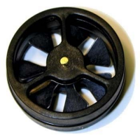 Kestrel Replacement Impeller for All Kestrel Meters, Black