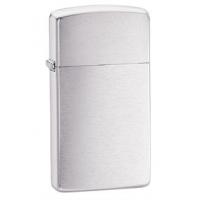 Zippo Classic Style Slim Lighter, Brushed Chrome