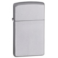 Zippo Classic Style Slim Lighter, Satin Chrome