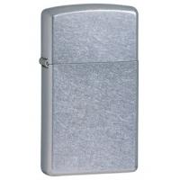 Zippo Classic Style Slim Lighter, Street Chrome