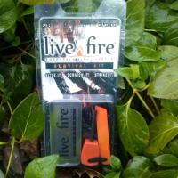 Live Fire Original Survival Kit Fire Starter