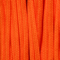 Live Fire 550 Fire Cord-Safety Orange