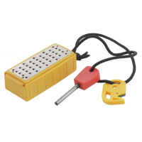 Smith's Sharpeners Edgesport Natural Tinder Maker with Fire Starter