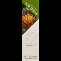 EcoQue Grill Foil Liners-15 inch