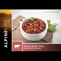 Alpine Aire Foods Black Bart Chili With Bean - 2 Servings