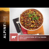 Alpine Aire Foods Southwestern Style Masa with Beef - 2 Servings
