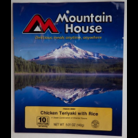Mountain House Chicken Teriyaki w/ Rice - 2 Servings