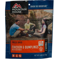 Mountain House Chicken and Dumplings with Vegetables - 2 Servings