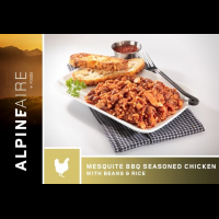 Alpine Aire Foods Mesquite BBQ Seasoned Chicken with Beans and Rice