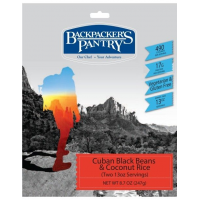 Backpacker's Pantry Cuban Coconut Black Beans and Rice - 2 Servings