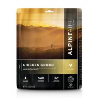 Alpine Aire Foods Chicken Gumbo - 2 Servings