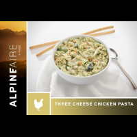 Alpine Aire Foods Three Cheese Chicken Pasta - 2 Servings