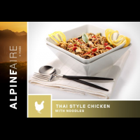 Alpine Aire Foods Thai Style Chicken with Noodles - 2 Servings