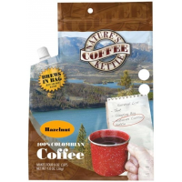 Natures Coffee Kettle Hazelnut Columbian Coffee - 4 Person