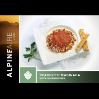 Alpine Aire Foods Spaghetti Marinara with Mushrooms - 2 Servings