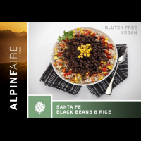 Alpine Aire Foods Santa Fe Black Beans and Rice - 2 Servings