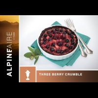 Alpine Aire Foods Three Berry Crumble - 2 Servings
