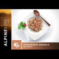Alpine Aire Foods Strawberry Granola with Milk - 2 Servings