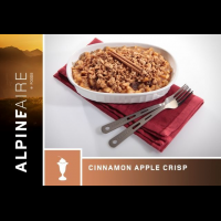 Alpine Aire Foods Cinnamon Apple Crisp - 2 Servings