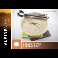 Alpine Aire Foods Creamy Potato Cheddar Soup - 2 Servings