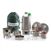 Kelly Kettle Ultimate Base Camp Kit-Stainless Steel