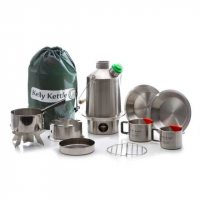 Kelly Kettle Ultimate Scout Kit-Stainless Steel