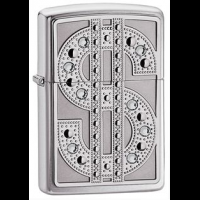Zippo Zippo Ace Classic Style Lighter, High Polish Chrome