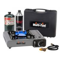 Can Cooker Multi-Fuel Cooktop Single Burner Gray/Black
