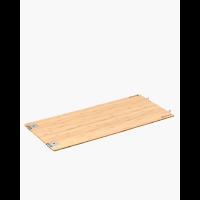 Snow Peak Bamboo Table Extension, Long, Light Brown