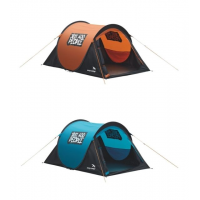 Easy Camp 2 Person Funster Tent, Gold Flame