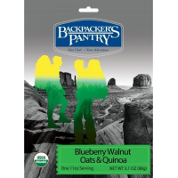 Backpackers Pantry Hot Blueberry, Walnut, Oats and Quinoa Cereal, 1 Serving
