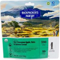 Backpackers Pantry Hot Cinnamon Apple, Oats and Quinoa Cereal, 1 Serving