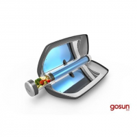 GoSun Go Stove, Black, Borosillicate Glass, Stainless, 1 Year MFG Warranty