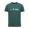 Black Diamond Dirtbag Short Sleeve T-Shirt - Men's, Forest, Large