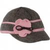 Stormy Kromer Lil' Petal Pusher - Girls, Charcoal/Pink, 6 1/4 Large