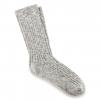 Birkenstock Cotton Slub Socks - Mens, Gray White, 42
