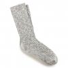 Birkenstock Cotton Slub Socks - Womens, Gray White, 36